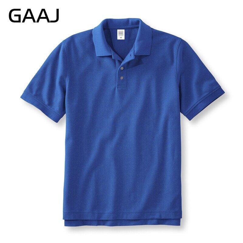 Áo Polo 2021 GAAJ 100% Cotton, Áo Sơ Mi Nam Nữ Cho Nam Quần Áo Ngắn Tay Thương Hiệu Mùa Hè Áo Golf Homme Teeshirt Nam