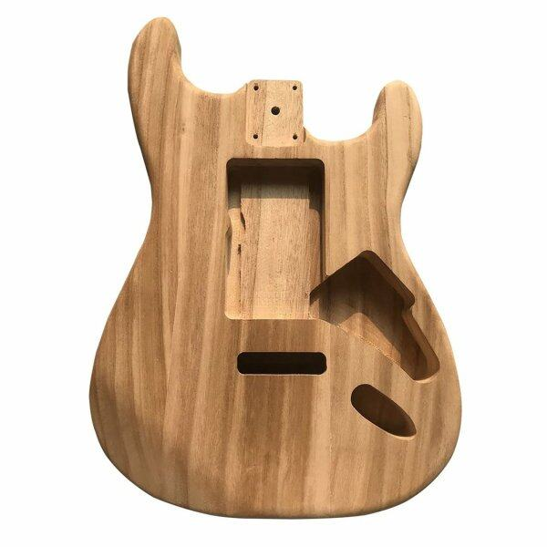 Crazy Sale Maple ST Electric Guitar Semi-finished Body Unfinished DIY Guitar Body Maple Malaysia