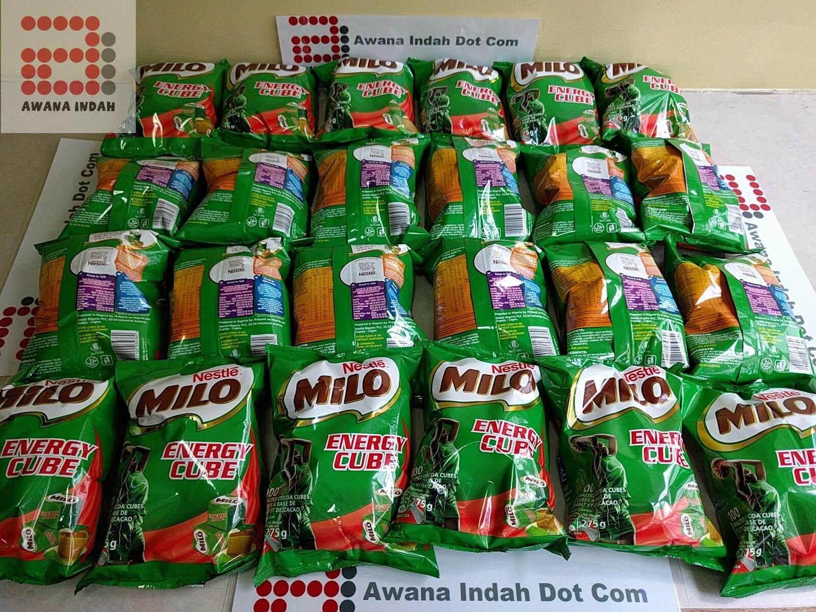 Milo Cube 100pcs Cubes - Made Mar 2019, Expiry Mar 2020_new Stock By Awana Indah Dot Com.