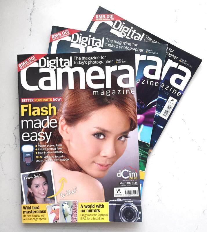 Digital Camera Magazine Issue 50, 51, 52 (set of 3) Malaysia
