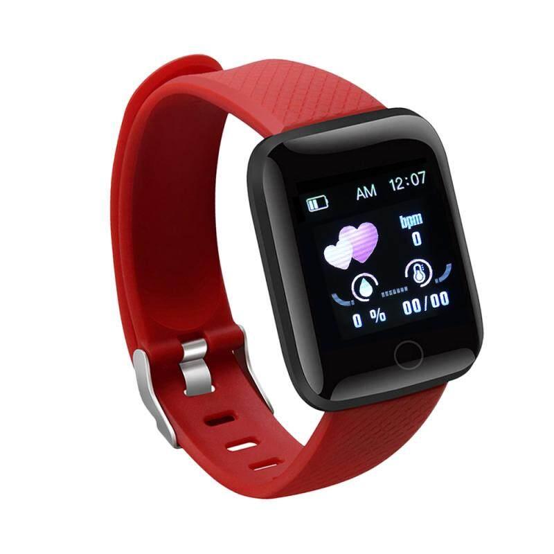 Đồng Hồ Thông Minh 116 Plus, Bluetooth Thể Thao Đồng Hồ, Sức Khỏe Dây Đeo Cổ Tay Vòng Đeo Tay Đo Nhịp Tim Tập Thể Dục Đồng Hồ Nam Chống Nước IP67