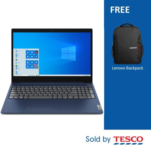 Lenovo IdeaPad 3 15ARE05 81W400ACMJ 15.6 FHD Laptop (Ryzen 5 4500U/ 4GB/ 512GB SSD/ ATI/ W10) Abyss Blue Malaysia