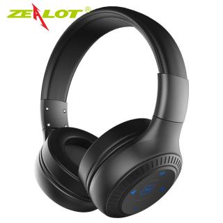 Tai Nghe Zealot B20, Tai Nghe Bluetooth 5.0 Không Dây Dành Cho Tất Cả Điện Thoại Thông Minh, Có Micro Tai Nghe Có Thể Gập Lại Âm Thanh Nổi Bass Rảnh Tay thumbnail