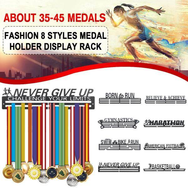 Medal Hanger Holder Display Rack Stainless Steel Medal Hanger Holder Race Medal Display Holder