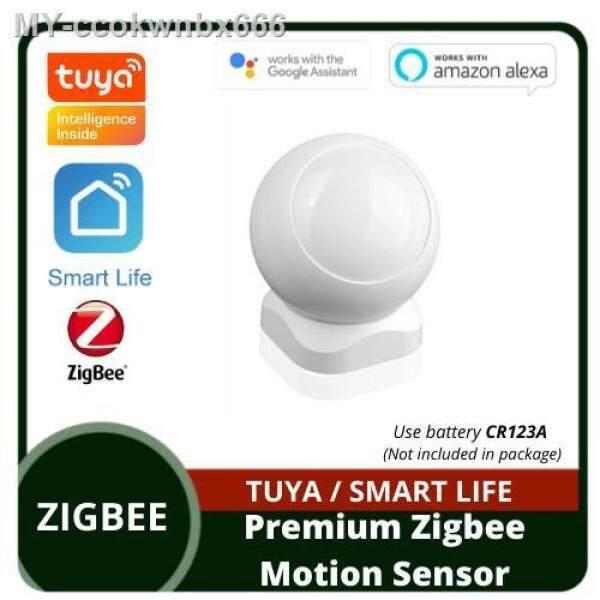 [Tuya] Basic   Premium Motion Sensor Powered by ZigBee Wireless Infrared Detector Security Burglar Alarm