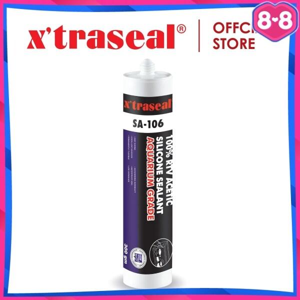 Xtraseal SA-106 Aquarium Grade 100% RTV Acetic Silicone Sealant 300g