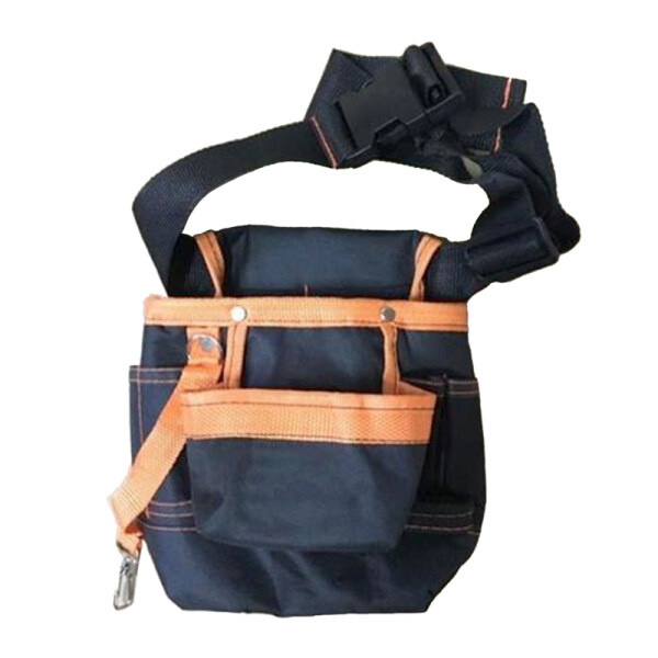 Thickened Fabric Polyester Adjustable Belt With Buckle Multi-Purpose Waist Tool Bag For Construction Workers Contractors Carpenters Framers Plumbers Electrician
