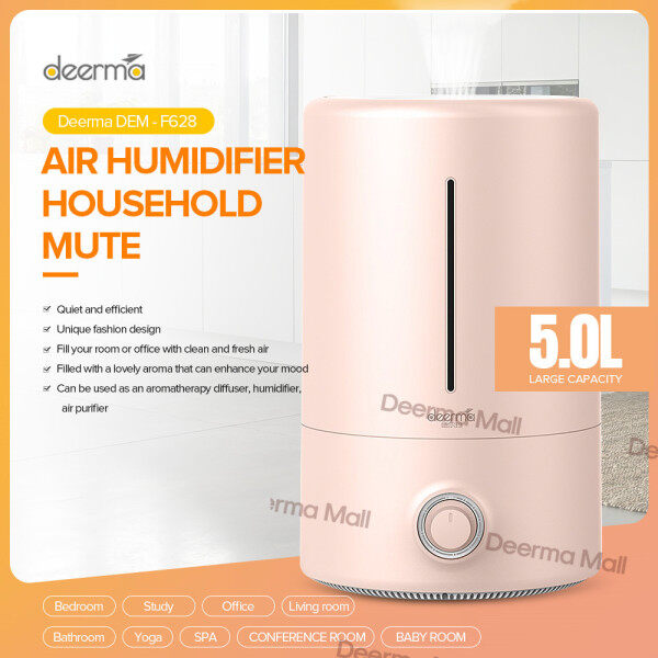 100% Original Air Purifier DEERMA DEM -F301/F380/F600/F628/ Household Humidifier Air Purifying Mist Maker2.5L/3l/5L Air purifier Singapore