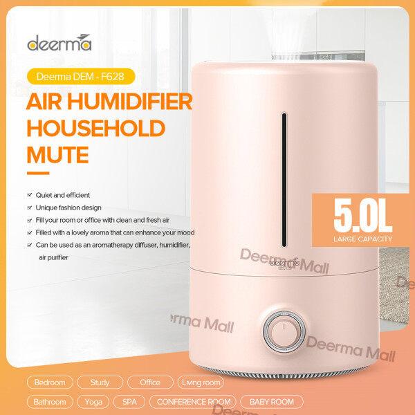 100% Original Air Purifier DEERMA DEM -F301/F380/F600/F628/ Household Humidifier Air Purifying Mist Maker2.5L/3l/5L Air purifier Singapore