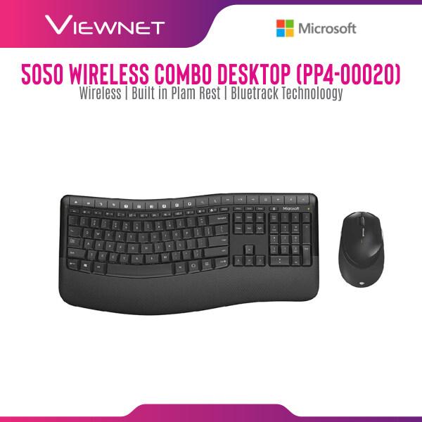 Microsoft Wireless 5050 Desktop Keyboard Mouse Combo (PP4-00020) Malaysia
