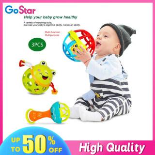 GoStar 1 Cái 3 Cái Lục Lạc Cho Bé Đồ Chơi Giáo Dục Sớm Bộ Quà Tặng Chuông Lắc Lắc Lắc Ếch Đồ Chơi Chuông Lắc Tay Cho Trẻ Sơ Sinh Đồ Chơi Gặm Nướu Cho Trẻ Sơ Sinh thumbnail