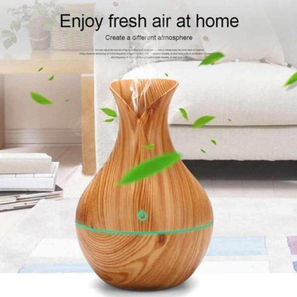 jomoo store Aroma Essential Oil Diffuser Mini USB Home Air Humidifier Aromatherapy Ultrasonic Mist Humidificador Air Purifier LED Light Singapore