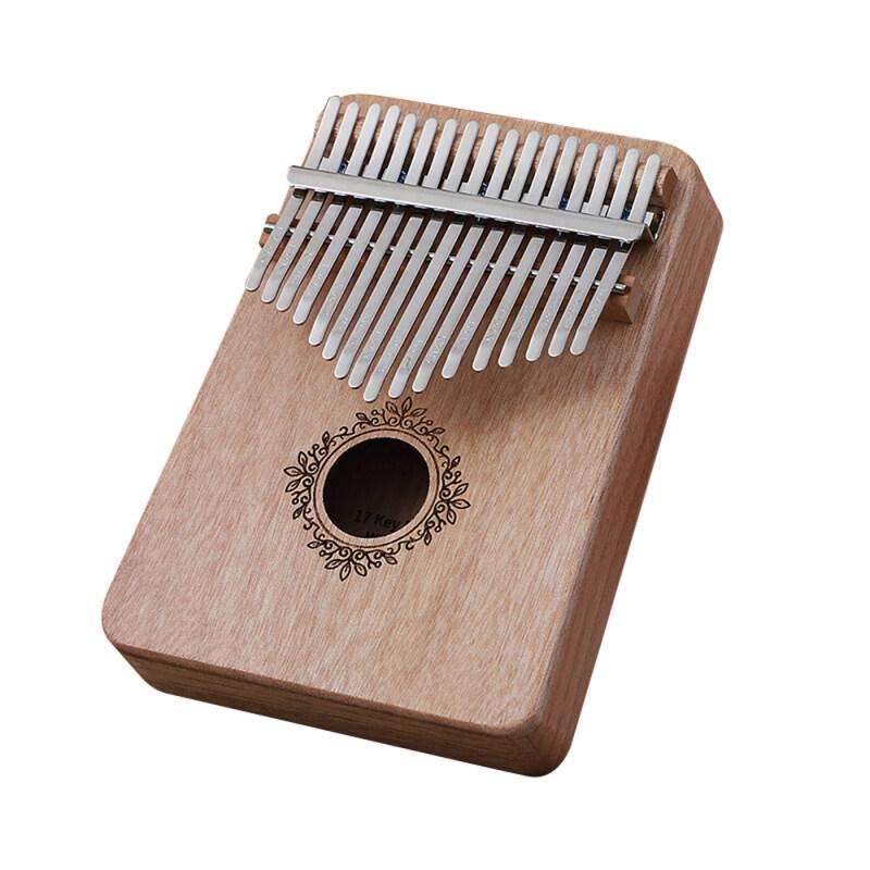Đàn Kalimba 17 Phím, Ngón Tay Piano Ngón Tay Châu Phi, Nhạc Cụ Cầm Tay Bằng Gỗ Kalimba