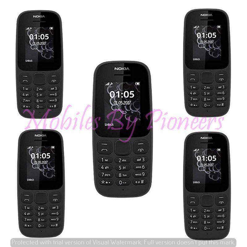 Nokia 105 (5 pcs) Mobile (Fresh Import) Limited Edition 5 phones