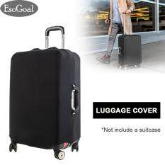 EsoGoal Stretchable Luggage Protector Elastic Travel Luggage Suitcase Protective Cover Anti-Scratch Suitcase Protector Bag Fits 18-28inches