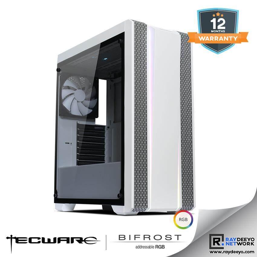 Tecware BIFROST ARGB TG (WHITE) ATX GAMING CASE [ATX, Matx, Mini-ITX] Malaysia