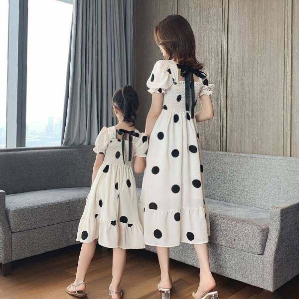 Giá bán Forher FORHIM Bé Gái Quần Áo Váy Hàn Quốc Mùa Hè 2020 Mới Siêu Nước Ngoài Cha Mẹ-Con Đầm Bé Gái Mùa Hè công Chúa Váy Miễn Phí Vận Chuyển KE200058