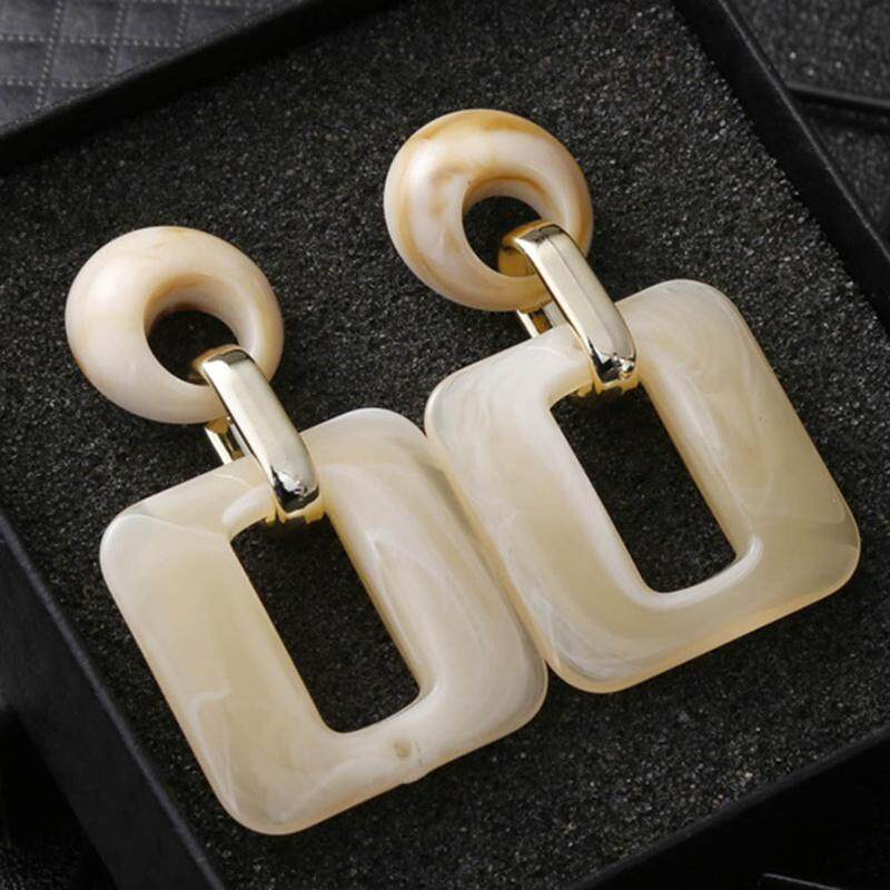 4b2373ae8 New Square Acrylic Drop Earrings For Ladies Trendy Dangle Earrings For Women  Statement Jewelry Wholesale Party