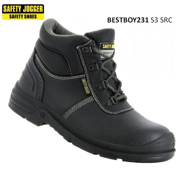 SAFETY JOGGER BESTBOY SAFETY SHOES (BLACK) [ GEOLASER ]