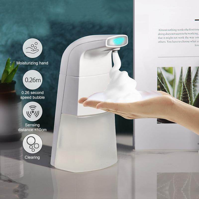 Jiuch Professional Antibacterial Automatic Soap Dispenser Natural Vegetable Sanitizer Dispensador For Kitchen Bathroom Hand Clean +10 Effervescent Tablets