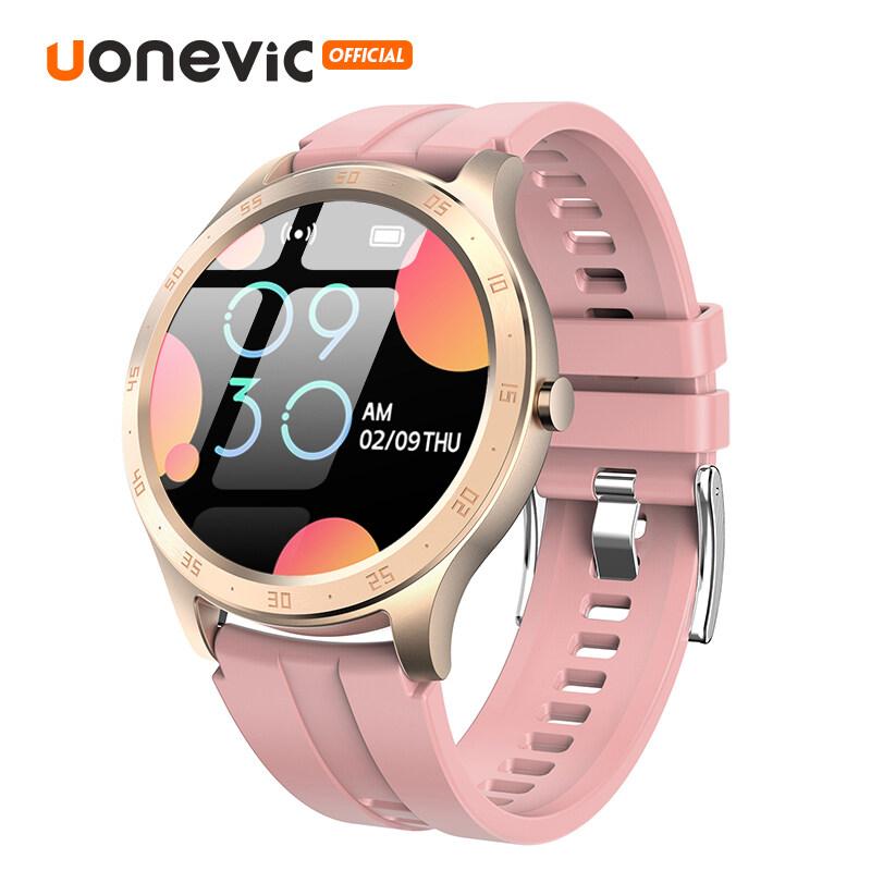 Đồng hồ thông minh Uonevic S20 màn hình cảm ứng dài 1.28 inch chống nước IP67 hỗ trợ Android/IOS Huawei - INTL