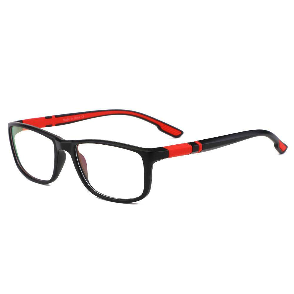 Yfcgood & Store แฟชั่นใหม่กีฬาแว่นตาผู้หญิงผู้ชายแว่นตาป้องกันแสงสีฟ้าแว่นตา Uv แว่นตาแว่นตาเลนส์แบนสำหรับผู้ชายผู้หญิง + ผ้า + กระเป๋า By Yfcgood&store.