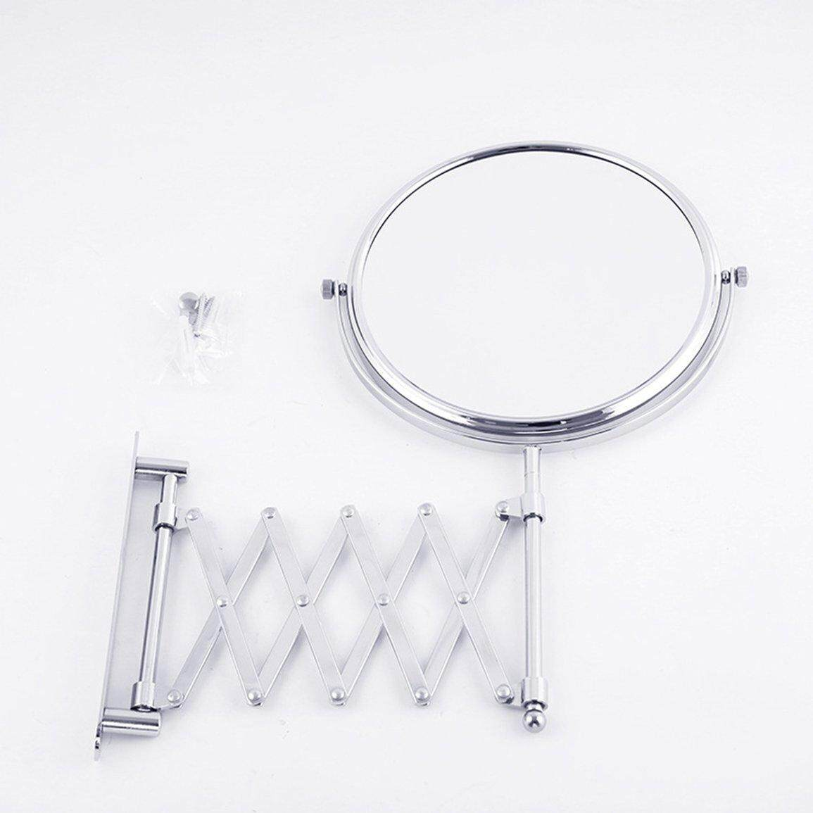 Best Sales Telescopic Wall Mirror Home Hotel Metal Folding Mirror Generation Mirror