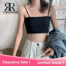 Áo 2 dây có mút ngực tiện lợi chất liệu lụa mềm mại LECROSE