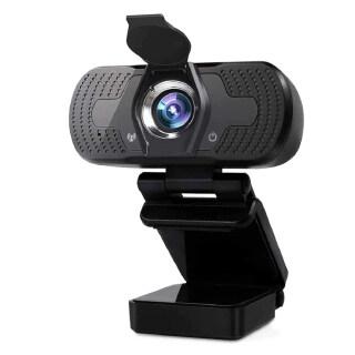 Camera Web Máy Tính Không Ổ Đĩa HD 1080P Tương Thích Cao Với Micrô Kép Webcam 1080P Độ Phân Giải Cao Có Micrô Cho Hội Nghị Giảng Dạy Phát Sóng Trực Tiếp Camera Máy Tính Ổ Đĩa Miễn Phí thumbnail
