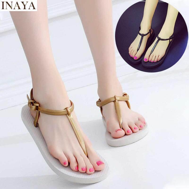 Inaya Sandals Women Flat Sandals Flip Flops Beach Shoes By Inaya Beauty.