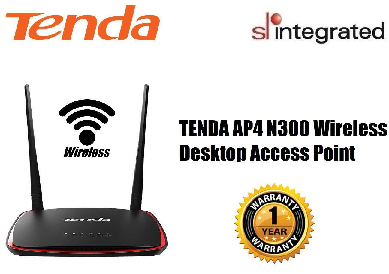 Tenda AP4 N300 Wireless Desktop Access Point