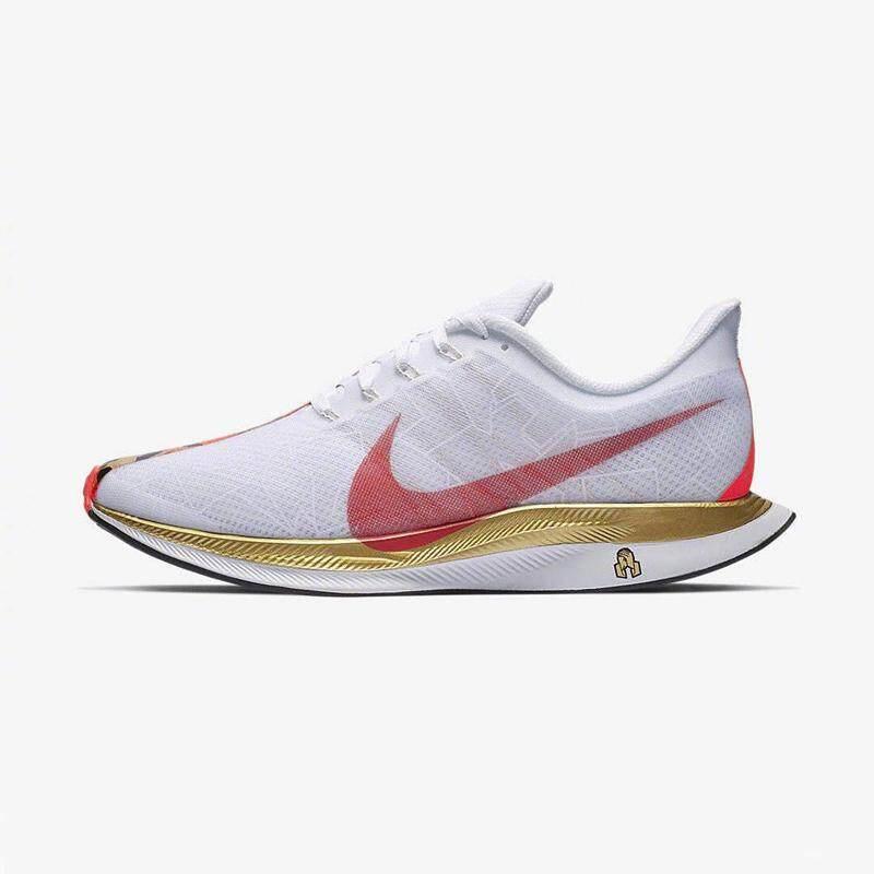 Hot Sale_Nike_Zoom_Pegasus Turbo 35 Running_Shoes Wanita, Tahan Goncangan Menyerap_Bunga Outlet Ringan Grosir Harga Grosir