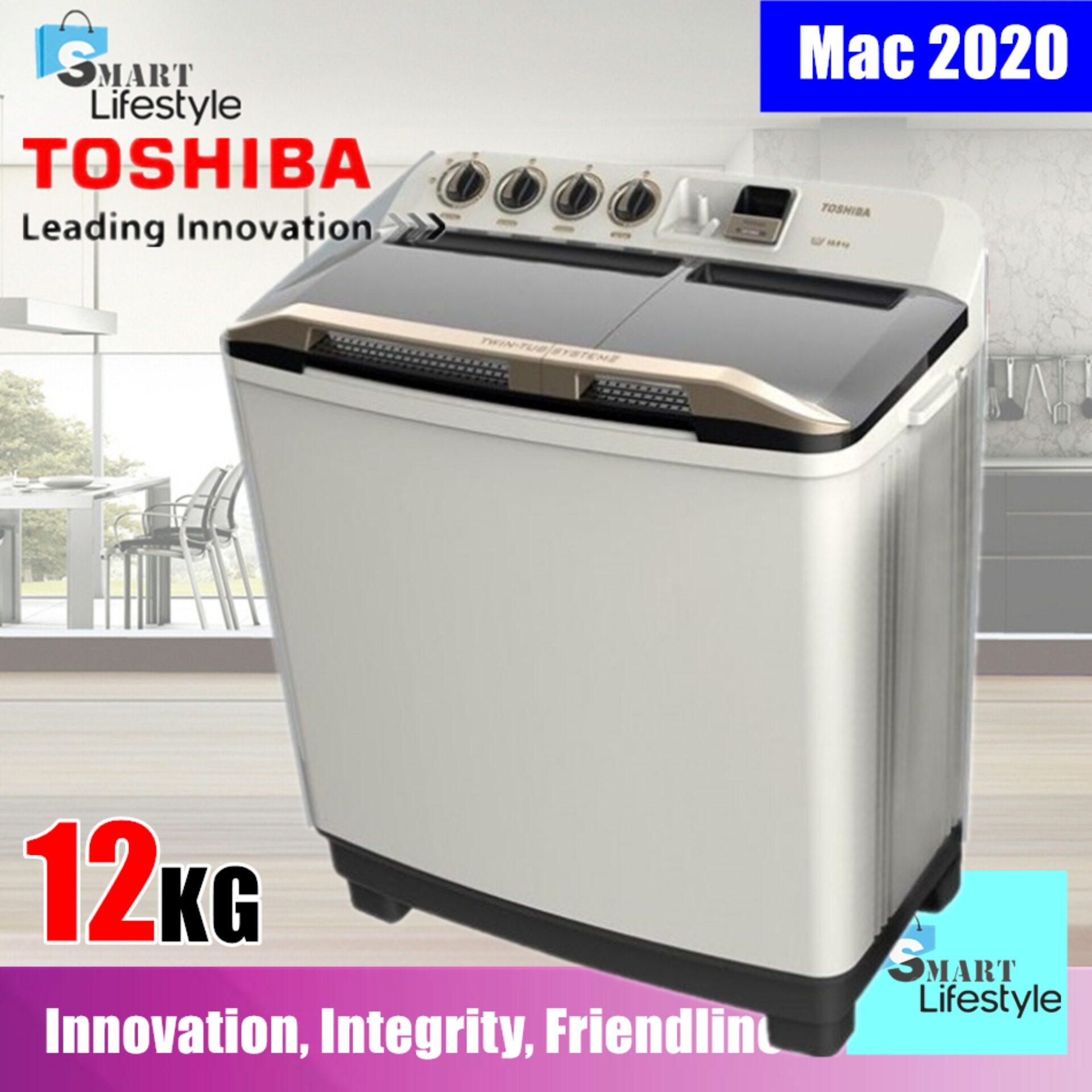 TOSHIBA 11.0 KG SEMI AUTO WASHER VH-H120WM