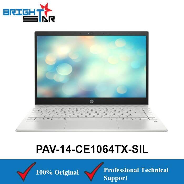 HP Pavilion 14-CE1064TX Silver (Intel I7-8565U/4GB/1TB HDD+128GB/MX150 2GB/14Inch) Malaysia