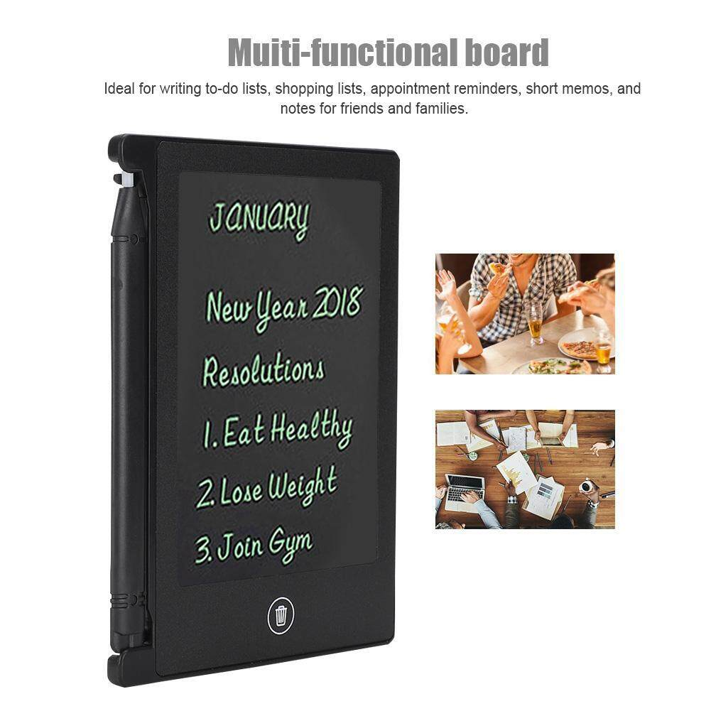 LCD 4.5inch Ultra-thin Handwriting Tablet Writing Drawing Notebook Board for Children Kids blue