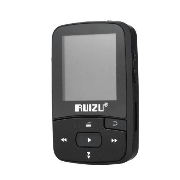 RUIZU X50 8GB 1.5in Máy Nghe Nhạc MP3 HIFI Âm Thanh Không Mất Chất Lượng Máy Đếm Bước Bluetooth Thẻ TF FM Radio Ghi Âm Sách Điện Tử Thời Gian Lịch