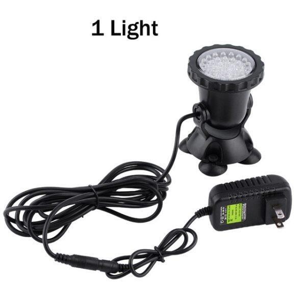 Đèn LED Dưới Nước RGB, Đèn Hồ Cá Chống Nước IP68 Đèn Chiếu Điểm Cảnh Quan, Dùng Cho Bể Bơi Đài Phun Nước Hồ Vườn