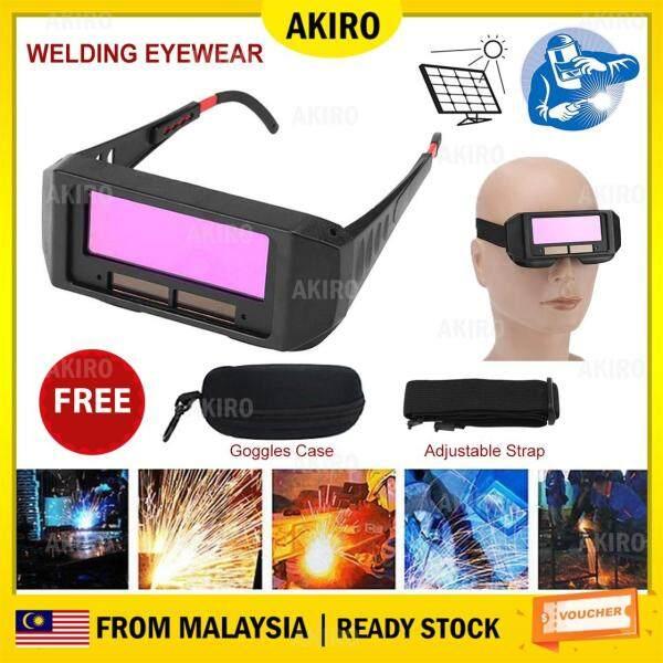 AKIRO HOME Solar Auto Darkening Welding Goggle Safety Protective Glasses Mask Helmet Eyes Anti-glare Goggles Mask