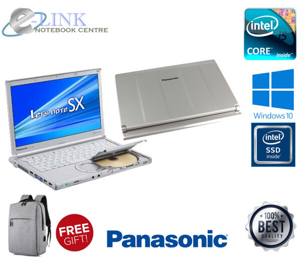 (REFURBISHED) Panasonic Toughbook SX2 NX2 CF-SX2JDAZ1M 12.1 Laptop / I5 2GEN / 4-8GB RAM / 250GB HDD / 120-240GB SSD/ WINDOW 7-10 Malaysia