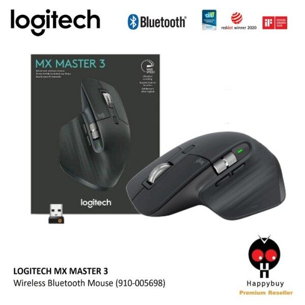 LOGITECH MX MASTER 3 WIRELESS BLUETOOTH MOUSE WITH HYPER FAST SCROLL WHEEL AND USB-C QUICK CHARGING (910-005698) Malaysia