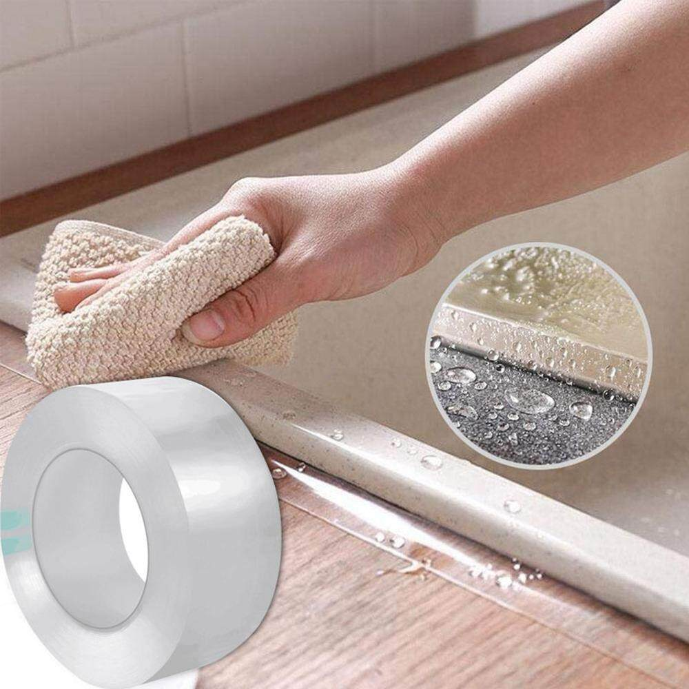 leegoal Self Adhesive Waterproof Mildew-Proof Caulking Tape for Bathroom Shower Bath Tub Toilet Wall Window Kitchen Sink Sealing Tape