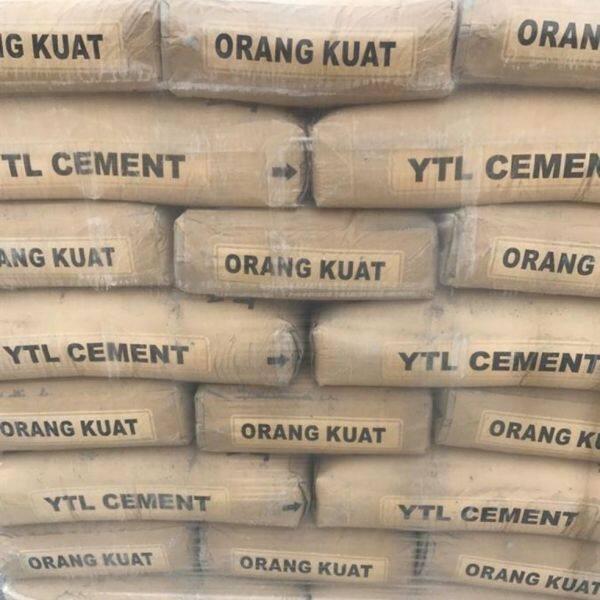 ytl cement 3kg packing
