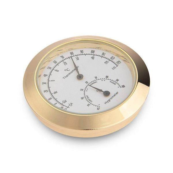 Hygrothermograph Violin Accessaries Round Thermometer Hygrometer Malaysia