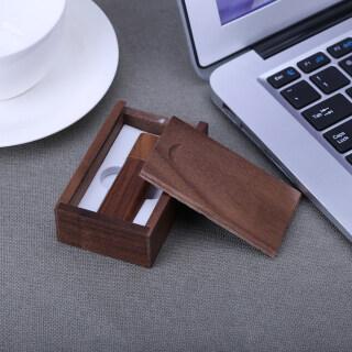 Vỏ Quả Óc Chó Tự Nhiên, Ổ Nhớ Flash Cổng USB2.0 Với Hộp Đóng Gói Bằng Gỗ thumbnail