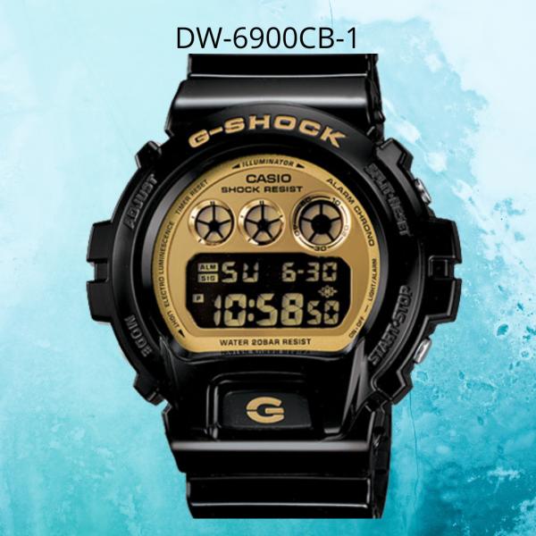 Casio G-shock Dw-6900cb-1 Mens Watch / DW6900CB / DW6900CB-1 Malaysia