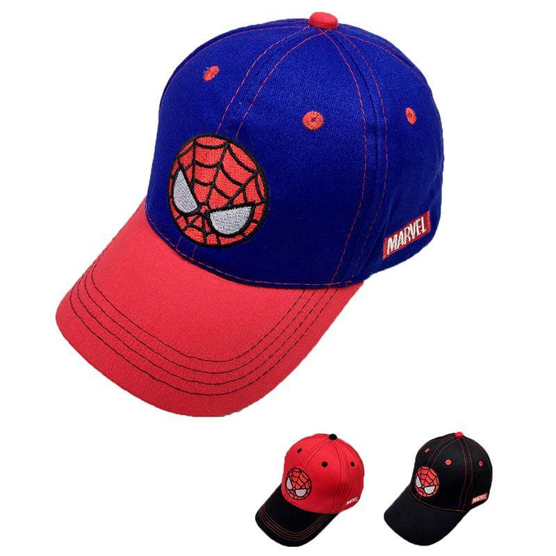 Children's Hat Korean Style Baseball Cap Spidermen Embroidery Design Sun hat Kids Boys Baseball Hat Cap