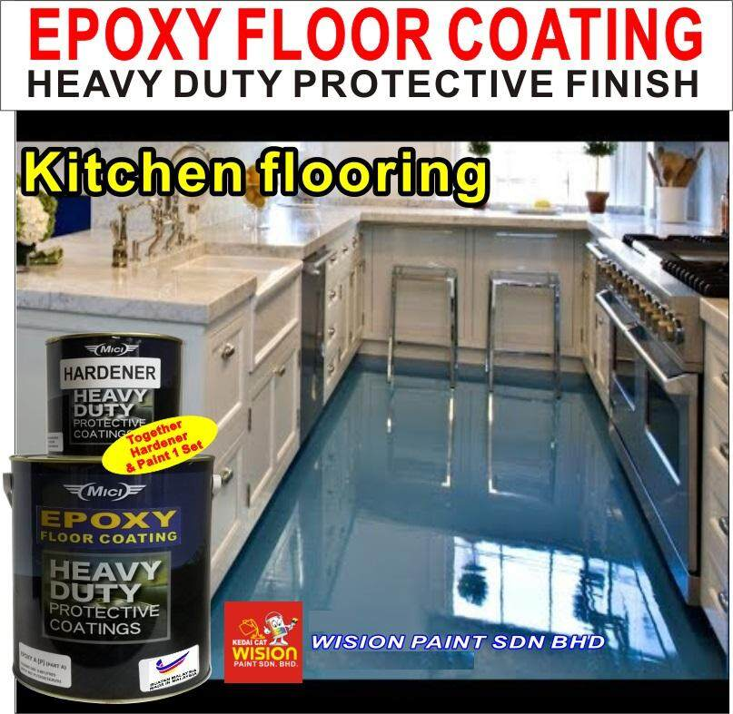 Mici EPOXY 5L - 490 Mistral • Mici • Floor Coating • Heavy Duty Protection