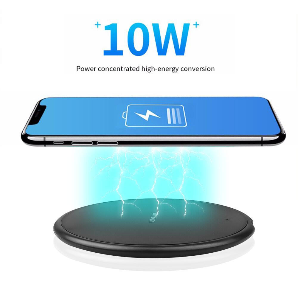 Shop bán Sạc Không Dây Sạc Nhanh 5W 10W Di Động Cho Samsung S8 S9 Sạc Nhanh  Cho iPhone Xs Max XR X 8 Plus QI Sạc Không Dây