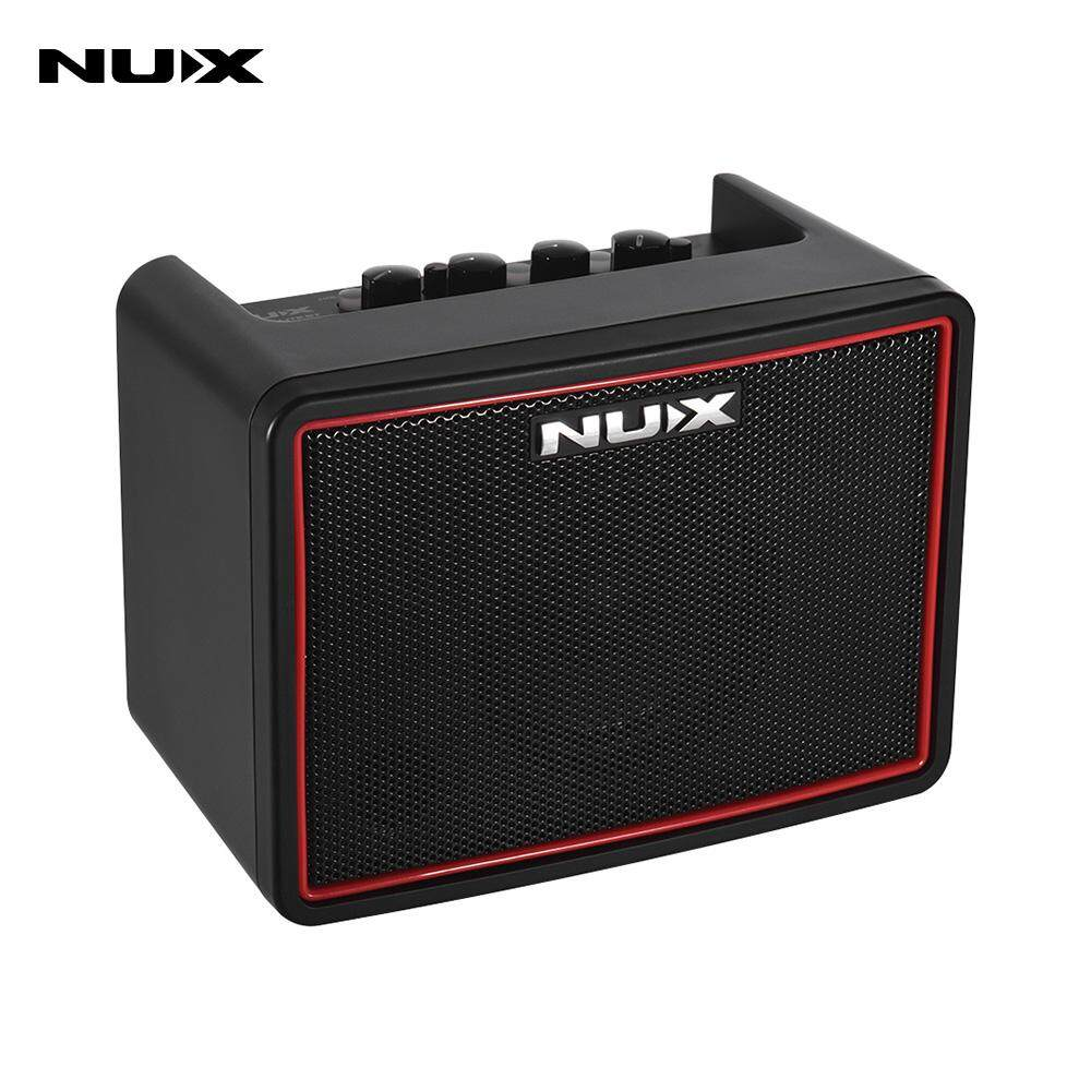 nux mighty lite bt mini desktop electric guitar amplifier 3w amp 3 channels  with delay reverb