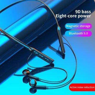 Tai Nghe Bluetooth SUMLIFE GB02, Tai Nghe Đeo Cổ Tai Nghe Kép Âm Thanh Nổi 9D Không Dây, Tai Nghe Thể Thao Âm Nhạc Giảm Tiếng Ồn Bass HIFI Có Mic thumbnail